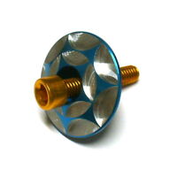 M6xP1.0x30mm TEAMSSX~New Titanium screw for headset cap 64Ti