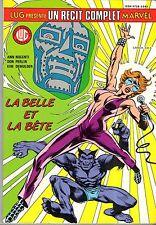 RCM/RECIT COMPLET MARVEL n°15 # LA BELLE ET LA BETE # 1987 LUG