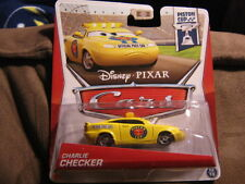 DISNEY CARS PISTON CUP SERIES CHARLIE CHECKER