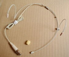 Beige - Headset Microphone For Wireless Microphone System - XLR mini 3pin (TA3F)
