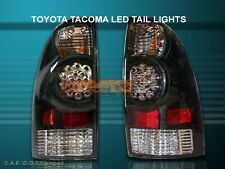 05 06 07 08 TOYOTA TACOMA JDM BLACK LED TAIL LIGHTS NEW