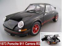 Porsche 911 Carrera RS in schwarz 1973  Limitiert  Welly  1:18  OVP  NEU