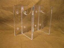 12 Acrylic Wall Mountable Antique Firearms Musket Hunting Rifle Display StandS