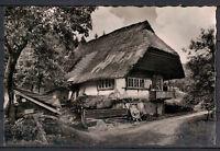 Ansichtskarte - Altes Schwarzwaldhaus
