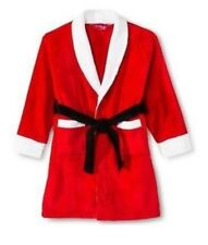 Intimo For her Santa Claus Fleece  Robe Christmas Red Bathrobe  Sz XL  A18