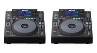 (2) GEMINI MDJ-900 - PRO DJ MEDIA PLAYERS - CD / MP3 / USB / MIDI Auth. Dealer