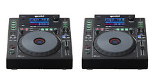 (2) GEMINI MDJ-900 - PRO DJ MEDIA PLAYERS - CD / MP3 / USB / MIDI Auth. Dealer