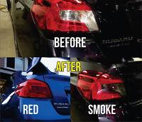 2015 2016 2019 Subaru WRX STi Sedan Overlay Tail light Tint. Red or Smoke Color