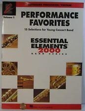 Hal Leonard Favorites Essential Elements 2000 Series Keyboard Percussion Timpani