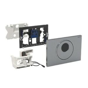 Geberit Sigma10 115.890.SN.5 Touchless and Manual Dual Flush Plate for Cistern