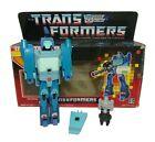 Vintage G1 Transformers Targetmasters - Blurr *w/ Vintage Box*
