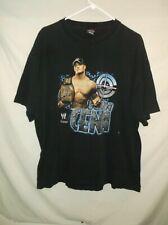 JOHN CENA WWE t-shirt black 2XL cotton Wrestling