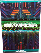 Beamrider Colecovision Cartridge, Vintage 1984, Collectible, Mint in Sealed Box!