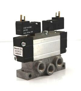 Rexroth Magnetventil 0 820 053 026 / 0820053026 mit Verteilerblock