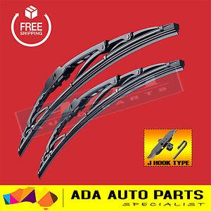Metal Frame Wiper Blades For Toyota Landcruiser 80 Series 90-98 (PAIR)