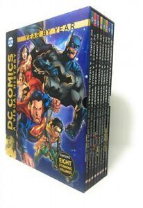 DC Comics: A Visual History Collection - 8 Books Set