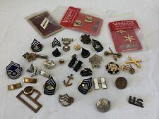 Original WW2 & Post War US Military Pins And Rank Insignia