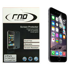 RND 4 Screen Protectors for Apple iPhone 6 and 6S [4.7 inch)