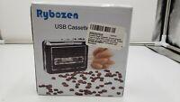 Rybozen Cassette Player Converter, Convert Tapes to Digital MP3 Portable Walkman