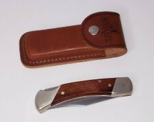 Schrade + Uncle Henry LB7 Lock back Folding Knife Pocket Knife w/ Sheath Exc++