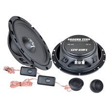 Fiat Punto 2 99-07 Ground Zero flat car speakers 165mm component front