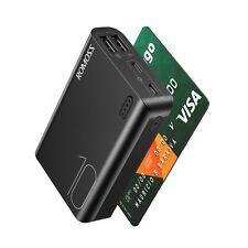 ROMOSS Dual Usb Power Bank Carregador Portátil 10000mAh Led Bateria Externa De Backup