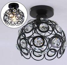 Mini Ceiling Light Mini Crystal Chandelier Semi Flush Mount Ceiling Light (E26)