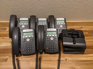 Polycom SoundPoint IP 335 HD Without Power Supply - Lot of 5