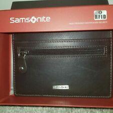 Samsonite Card Holder RFID BV 851 Genuine Leather - Brand New