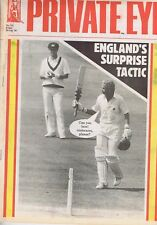 ENGLAND'S SURPRISE TACTICPrivate Eyeno.72218AUG1989