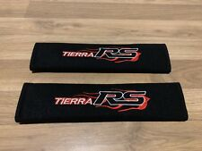 2X Seat Belt Pads Cotton Gifts Tierra RS Ford Focus Laser Audi Performance Sport