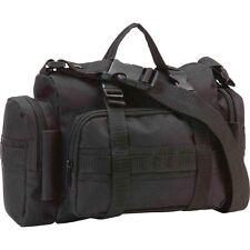 Mens Black EDC Multi-Purpose Bag, Shoulder Bag, HandBag, or Fanny Pack Case