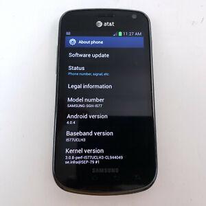 Samsung Galaxy Exhilarate SGH-I577 - 4GB - Black Consumer Cellular