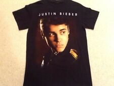 Justin Bieber Believe Tour 2012/2013 Tee Shirt - Small Black T-Shirt