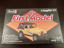 Jeep CJ-7 scala 1:32 REVELL MADE IN USA,nuovo E Sigillato