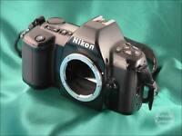 8925-3 - Nikon F-601M Film Camera; Manual Focus Model