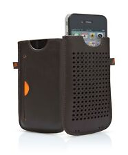 Cygnett CYGCY0428CPMIL Milan Leather Case for Apple iPhone 4/4s BRAUN