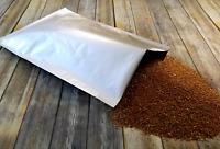 50 Mylar Texturé Feuille One//1 Gallon scelleuse sous vide 10x14 de stockage de denrées alimentaires Saver Sacs