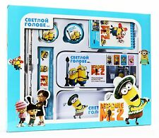 Despicable Me Minions Stationery Set School Educational Birthday Party Gift -B