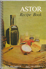Astor Recipe Book by Astor Refrigerator Company c1950/1960s