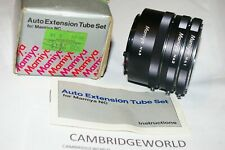 MAMIYA NC Macro Extension Tube Set 1 2 and 3 OLD STOCK NEW in with INSTRUCTION
