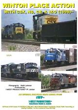 WINTON PLACE ACTION WITH CSX, NS, CR, & I&O (1998)™ Railroad DVD Video