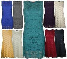 Round Neck Sleeveless Viscose Midi Dresses for Women