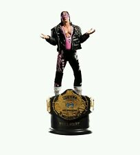 WWE LICENSED STATUE: CHAMPION SERIES BRET HART. 238/500. RARE.