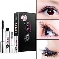 New 4D Silk Fiber Mascara Eyelash Extension Black Waterproof Eyelashes Makeup