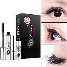 4d Silk Fiber Eyelash Mascara Extension Makeup Black Waterproof Kit Eyelashes