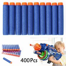 400PCS KIDS TOYS SOFT NERF GUN DARTS REFILL BULLET BLASTER N-STRIKE ELITE SERIES