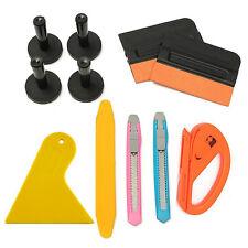 11pcs Car Film Wrap Vinyl Tools Kit Scratch Squeegee Razor Cutter 4 Magnets Top