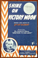 """Jack Payne – Shine On Victory Moon from """"Something To Sing About"""" –  Pub. 1944"""