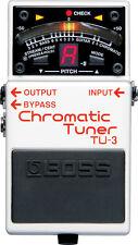 BOSS TU-3 Accordatore per chitarra Pedale (nuova versione di TU-2) NUOVO!